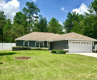 Marion Oaks North, Marion Oaks South, Marion Oaks Rnc Single Family Home For Sale: 15266 SW 44th Terrace