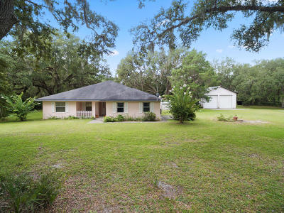 Silver Springs Single Family Home For Sale: 13874 NE 46th Street