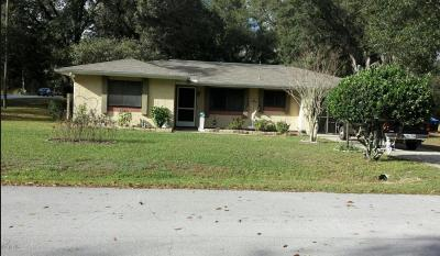 Ocala Single Family Home For Sale: 24 Cedar Tree Drive