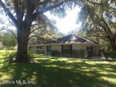 Dunnellon Single Family Home For Sale: 13970 SW 103 Street