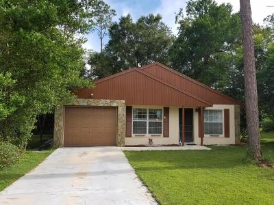 Dunnellon Single Family Home For Sale: 21374 SW Raintree Street