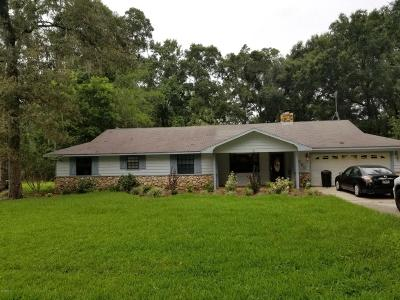 Ocala Single Family Home For Sale: 4090 SE 23rd Terr Terrace
