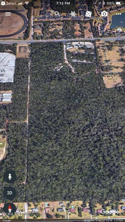 Ocala FL Residential Lots & Land For Sale: $22,000,000