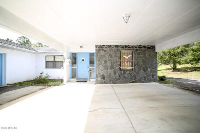 Dunnellon Single Family Home For Sale: 21840 SW Anchor Boulevard