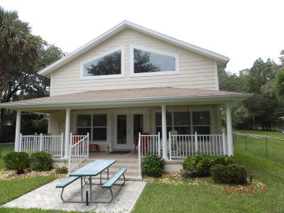 Dunnellon Single Family Home For Sale: 9275 SW 186th Terrace