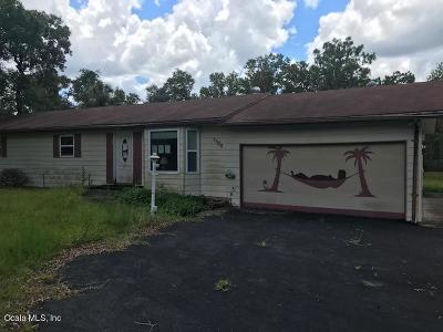 Citrus County Single Family Home For Sale: 7350 W Hadenotter Lane
