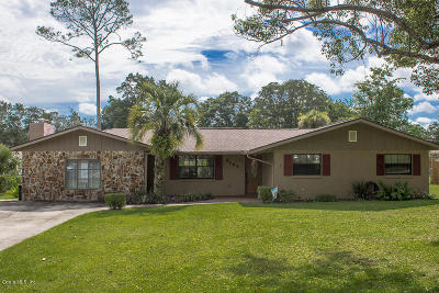 Ocala Single Family Home For Sale: 3609 SE 33rd Court