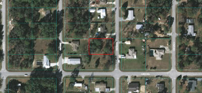 Belleview FL Residential Lots & Land For Sale: $8,900