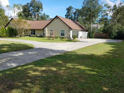 Ocala Single Family Home For Sale: 65 NE 55th Avenue