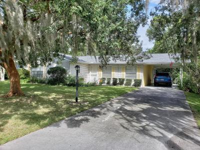 Ocala Single Family Home For Sale: 6 Spring Drive Pl