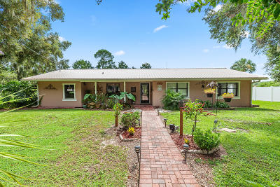 Belleview Single Family Home For Sale: 11758 SE 123rd Street