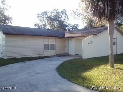 Ocala Single Family Home For Sale: 14509 SW 43rd Court Road