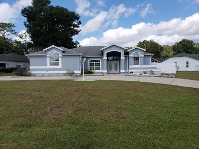 Ocala Single Family Home For Sale: 10050 SW 74th Terrace