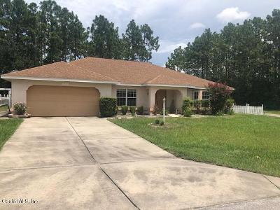 Marion County Single Family Home For Sale: 8201 SW 135 Loop