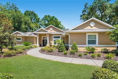 Dunnellon Single Family Home For Sale: 11541 Kennesaw Road