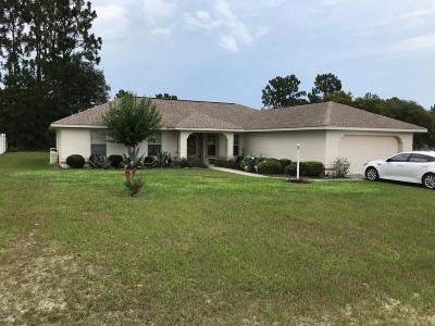 Marion County Single Family Home For Sale: 8347 SW 136th Street