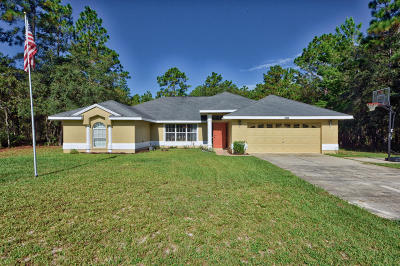 Ocala Single Family Home For Sale: 6440 SW 135th Terrace Road