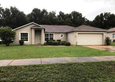 Ocala FL Single Family Home For Sale: $159,950