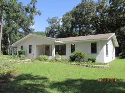 Ocala FL Single Family Home For Sale: $179,000