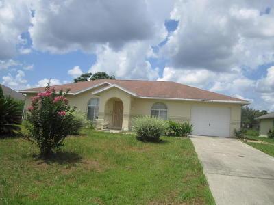 Ocala FL Single Family Home For Sale: $89,900