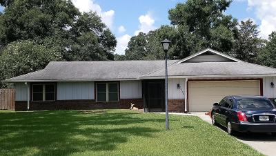 Ocala FL Single Family Home For Sale: $185,000