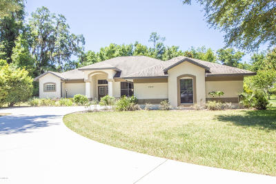 Dunnellon Single Family Home For Sale: 19699 SW 80th Street