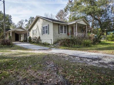 Reddick Single Family Home For Sale: 5930 NW 191st Lane Road