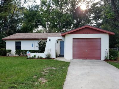 Dunnellon FL Single Family Home For Sale: $112,900