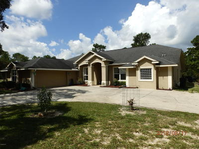 Dunnellon Single Family Home For Sale: 8702 SW 137th Court