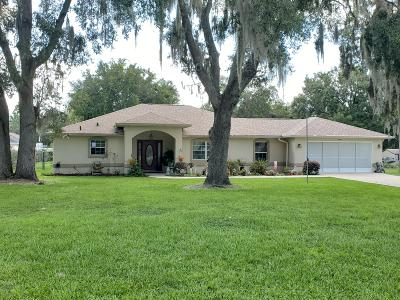 Summerfield Single Family Home For Sale: 16310 SE 90th Court