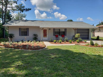 Belleview Single Family Home Pending: 7430 SE 115th Street