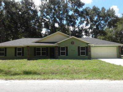 Ocala Single Family Home For Sale: 7720 SW 79 Place