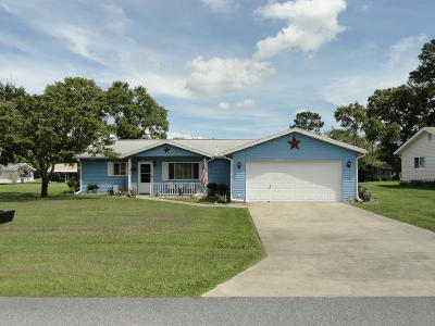 Ocala Single Family Home For Sale: 8227 SW 107th Place