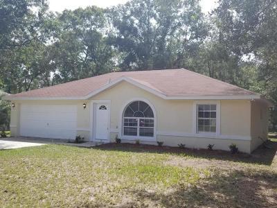 Ocala Single Family Home For Sale: 17 Teak Way Drive