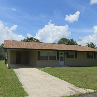 Belleview Single Family Home Pending: 11906 SE 72 Ct. Road