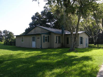 Single Family Home For Sale: 9503 NW Gainesville Road
