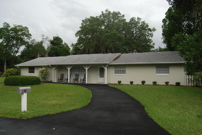 Ocala Single Family Home For Sale: 2190 SE 39th Street