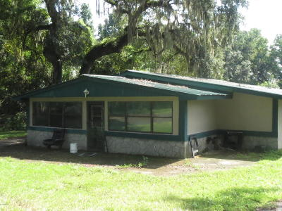 Reddick Single Family Home For Sale: 12135 NW Gainesville Road