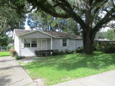 Ocala Single Family Home For Sale: 1151 NE 9th Street