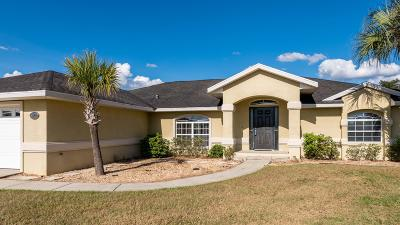 Ocala Waterway Single Family Home For Sale: 3900 SW 102nd Place