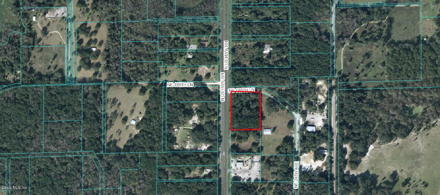 NE 189 Lane, Citra, FL.| MLS# 542249 | Scott Kiefer | Kiefer Realty Citra Fl Map on