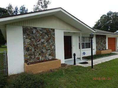 Dunnellon Single Family Home For Sale: 21042 SW Raintree Street