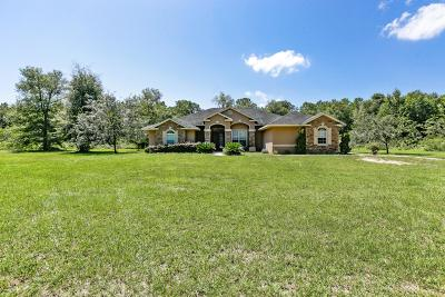Ocala Single Family Home For Sale: 12585 SW 16th Avenue