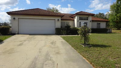 Ocala Single Family Home For Sale: 6 Hickory Track Court