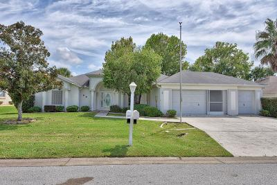 Ocala Palms Single Family Home For Sale: 5680 NW 25th Loop