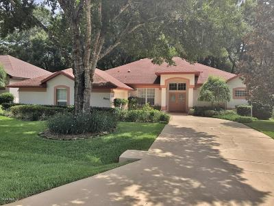 Dunnellon Single Family Home For Sale: 8883 SW 194th Court