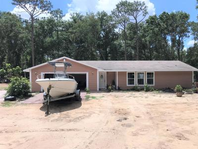 Levy County Single Family Home For Sale: 10150 NE 103rd Lane