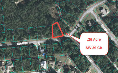 Residential Lots & Land For Sale: SW 39th Circle