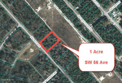 Ocala Residential Lots & Land For Sale: SW 56th Avenue