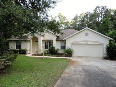 Dunnellon Single Family Home For Sale: 21500 SW 102 St Road